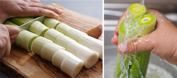 Leek-Tarte-tartin_how-to-wash-them