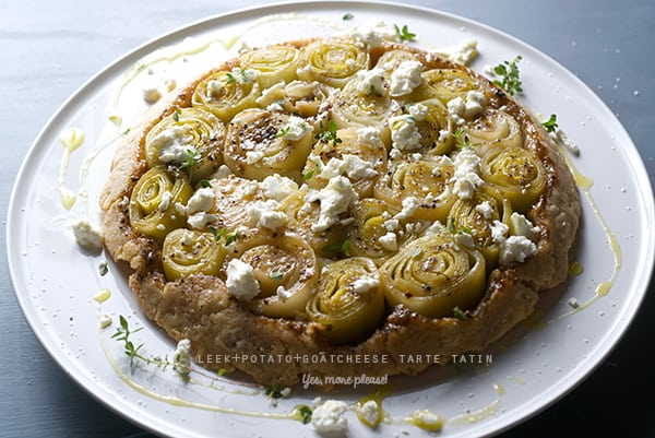 Leek-potato-goat-cheese-Tarte-tatin_Yes,-more-please!