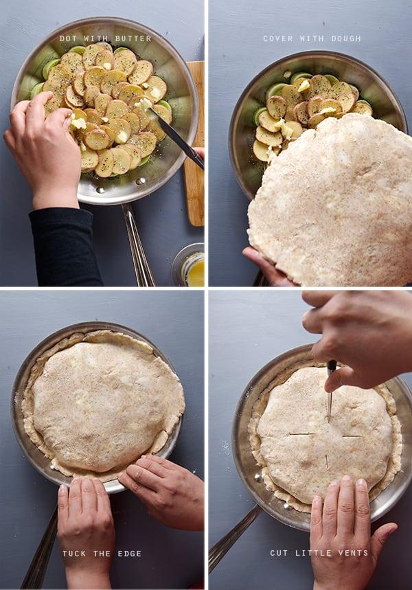 Leek-tarte-tartin_how-to-place-the-dough