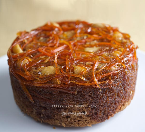 Upside-down-carrot--coconut-ginger-cake~Yes,-more-please!