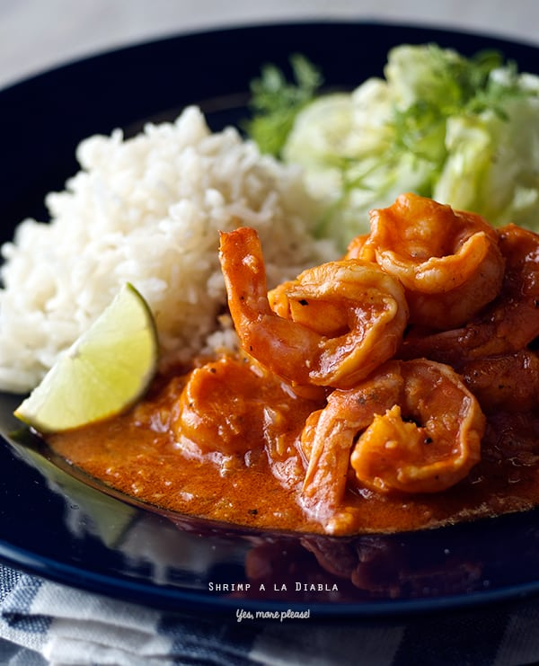 Deviled Shrimp Camarones a la Diabla ~Yes, more please!