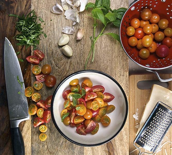 Eggplant_Parmigiana_tomatoe_salad_ingredients