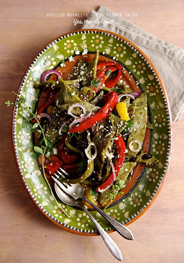 Grilled-Nopalitos+RED-Pepper-Salad