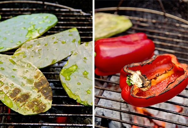 Nopalito-+-Red-pepper-Salad_grilled