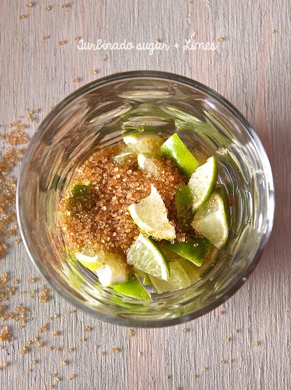 Texas-Caipirinhas_turbinado-sugar+Limes