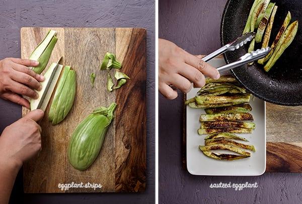 Cheesy-Eggplant-Flautas_eggplant-sauteed