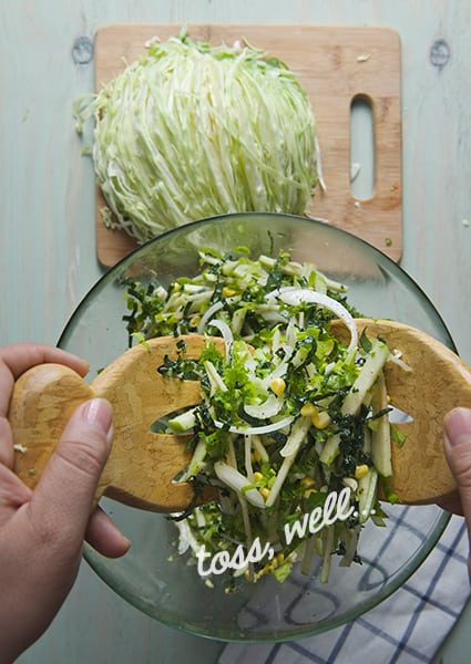 Green-Green-Cole-slaw_toss-well_Yers,-more-please!