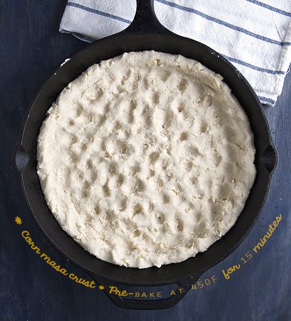 Pizza-Azteca,pre-bake-crust