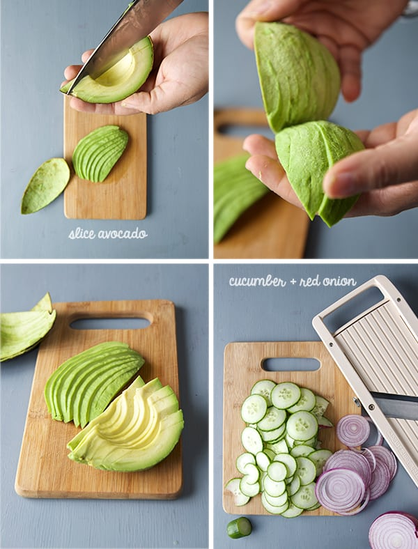 Mexican-Sashimi_Slicing_avocado,-cucumber,-red-onion