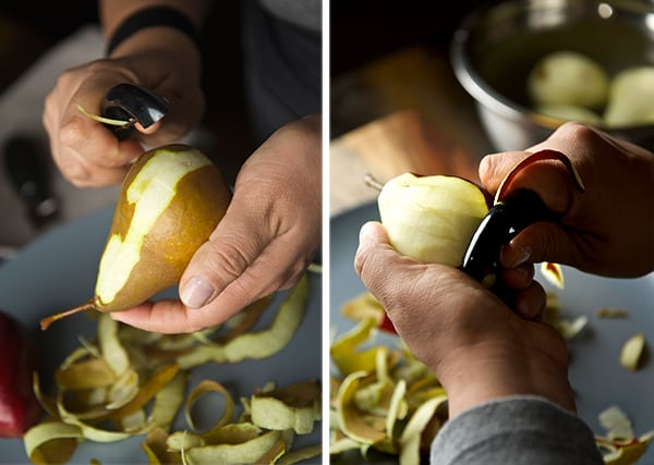 Spiced-poached-pears_peeling-pears_Yes,-more-please!