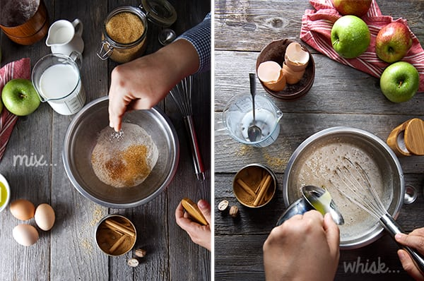 Apple-Buckwheat-crepe-cake_making-crepe-batter