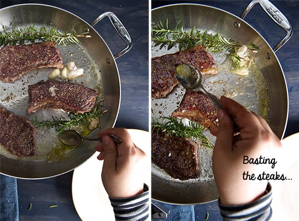 Underblade-steak-&-beets_basting-a-steak