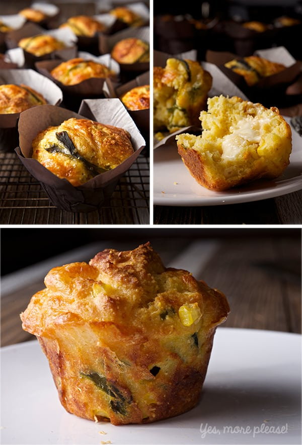 Corn-Braead-Muffins-with-Poblano-Peppers-and-Smoked-Gouda_spread-some-butter!_Yes,-more-please!