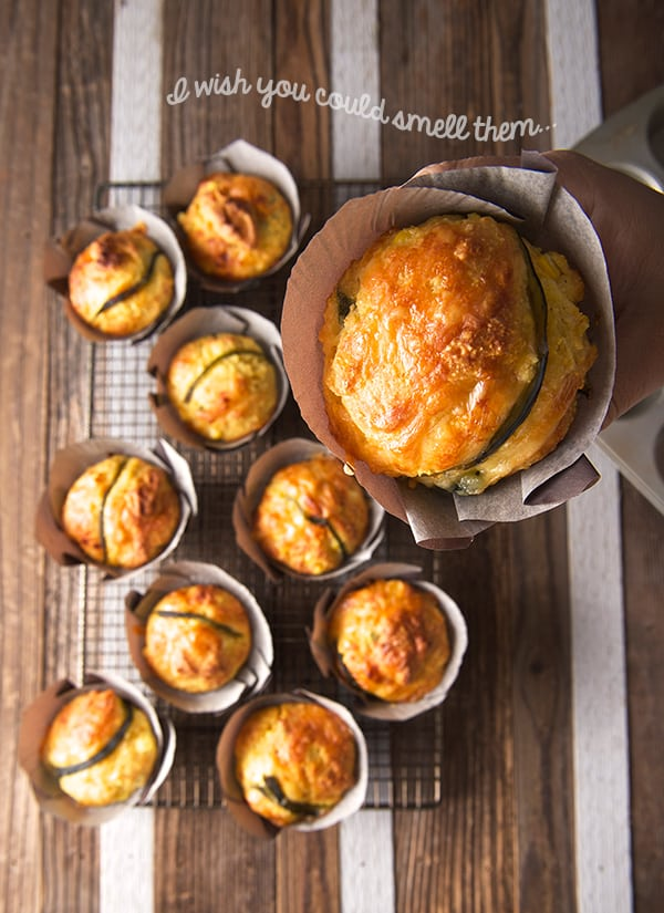 Corn-Bread-Muffins-with-Poblano-peppers-and-Smoked-Gouda-Yes,-more-please!
