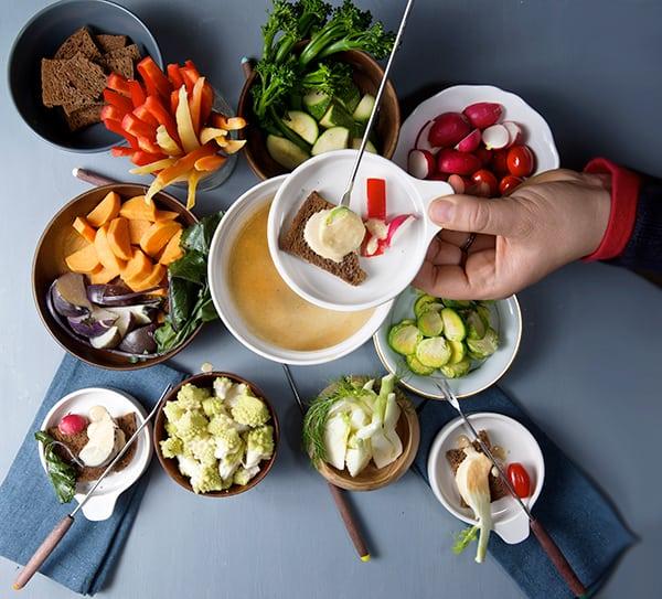 Creamy Bagna Cauda & Seasonal Vegetables