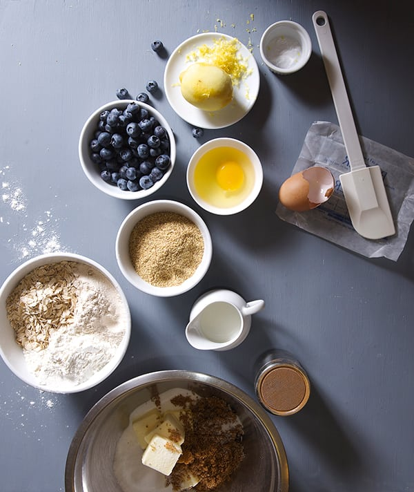 Oatmeal-Bluberry-Lemon-Breakfast-Cookies_ingredients