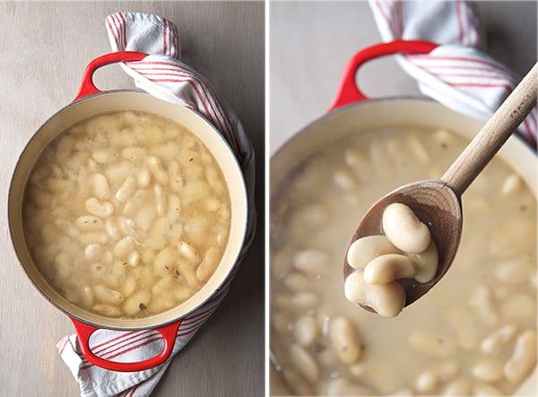 Rancho-Gordo-Corona-Beans-and-Cilantro-Pesto_Cooked-Beans