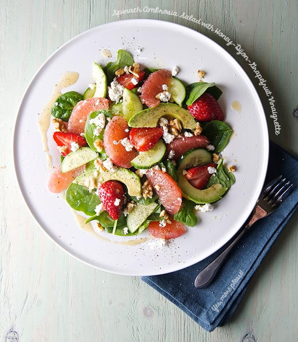 Spinach-Ambrosia-Salad-with-Honey-Dijon-Grapefruit-Vinaigrette_Yes,-more-please!_healthy-food