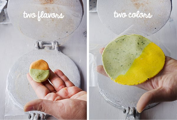 Handmade-Two-color-and-flavored-tortillas_Yes,-more-please!