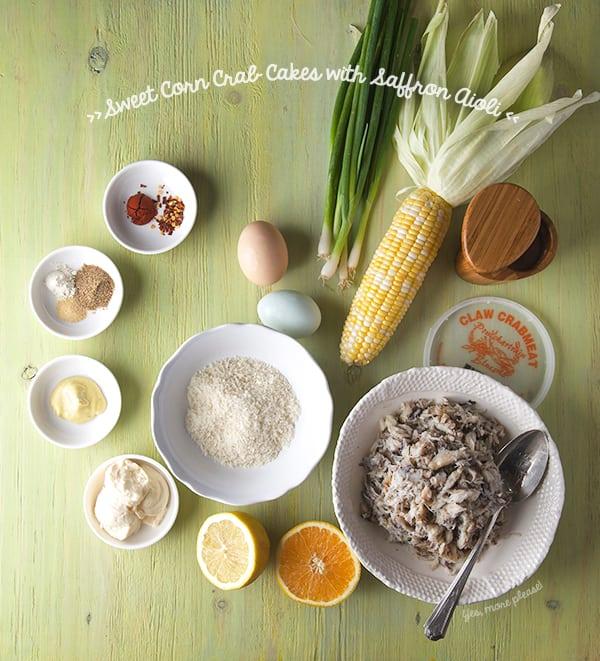 Sweet-Corn-Crab-Cakes-with-Saffron-Aioli_ingredients