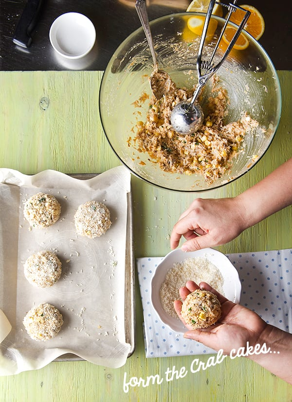 Sweet-Corn-Crab-Cakes-with-Saffron-Aioli_making-and-forming-the-crabcakes_Yes,-more-please!