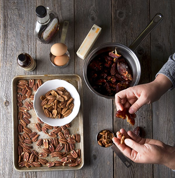 Salted-Date-and-Pecan-Pie-Ingredients
