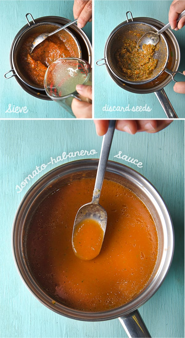 Sieving-the-Chiltomate-salsa_Pan-de-Cazon